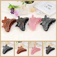 Min Order 10 Can Mix Models Korean Acrylic Princess Hair Ornament Hairpin Hair Claw With
