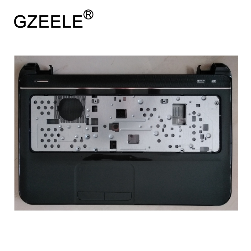 GZEELE New Laptop LCD TOP CASE For HP Pavilion 15-b RT329 Palmrest Keyboard Bezel Cover Upper Case Assembly Touchpad 701704-001 for sony vpceh35yc b vpceh35yc p vpceh35yc w laptop keyboard