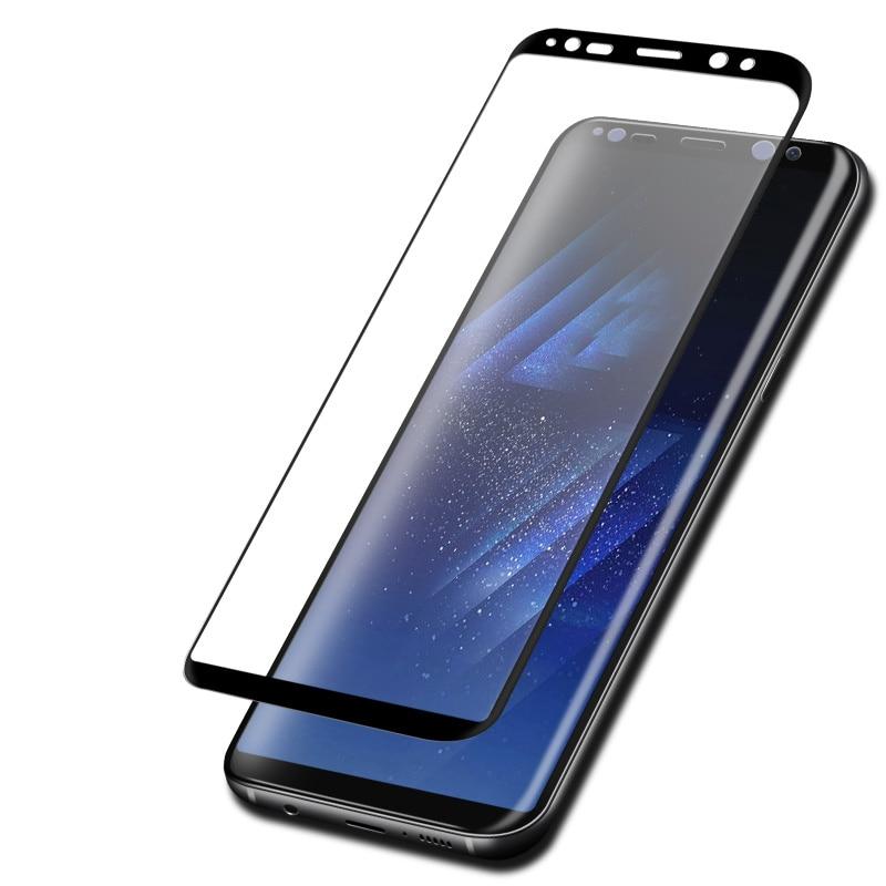 5D härdat glas nots8 S8 För Samsung Galaxy S9 S8 Plus S7 S6 Edge - Reservdelar och tillbehör för mobiltelefoner - Foto 3