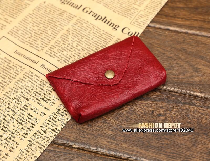 Vintage Genuine Leather Credit Card holder 19991# (2)