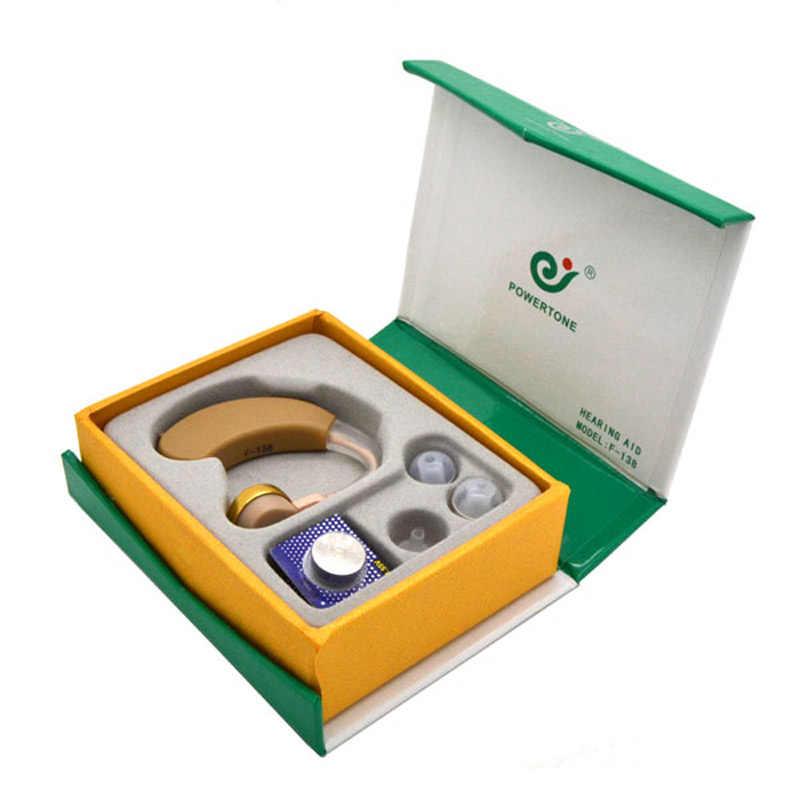 BTE 補聴器音声サウンドアンプ Axon F-138 補聴器耳の調整可能なヘルスケア