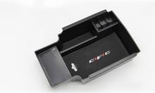 Caixa de Armazenamento de apoio de Braço Central do carro Para Honda Civic 2012 2013 2014 2015 Consola Central Braço Resto Caso o Titular Bandeja Pallet recipiente