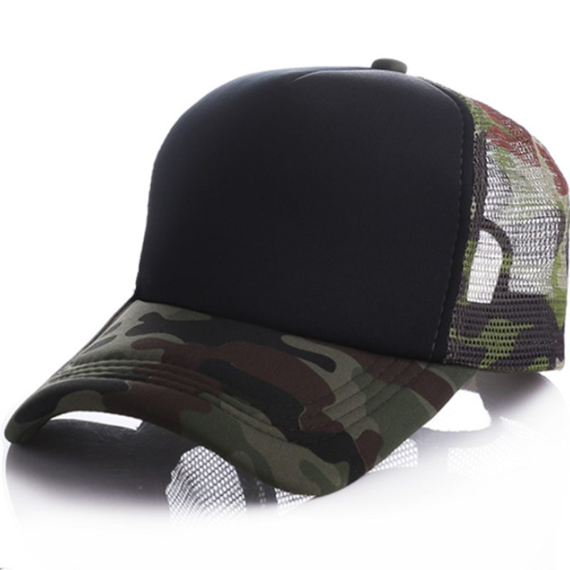 MYZOPER 2019 Fashion New Camouflage Unisex Custom LOGO   Baseball     Cap   Casual Visor Adjustable Summer Hat Adult   Cap