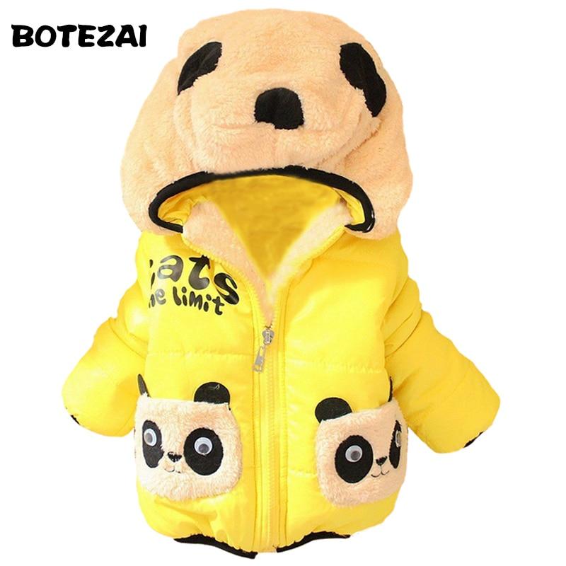 fd5cfc84e Al por menor 1 unid niños ropa Panda dibujos animados Outwear ...