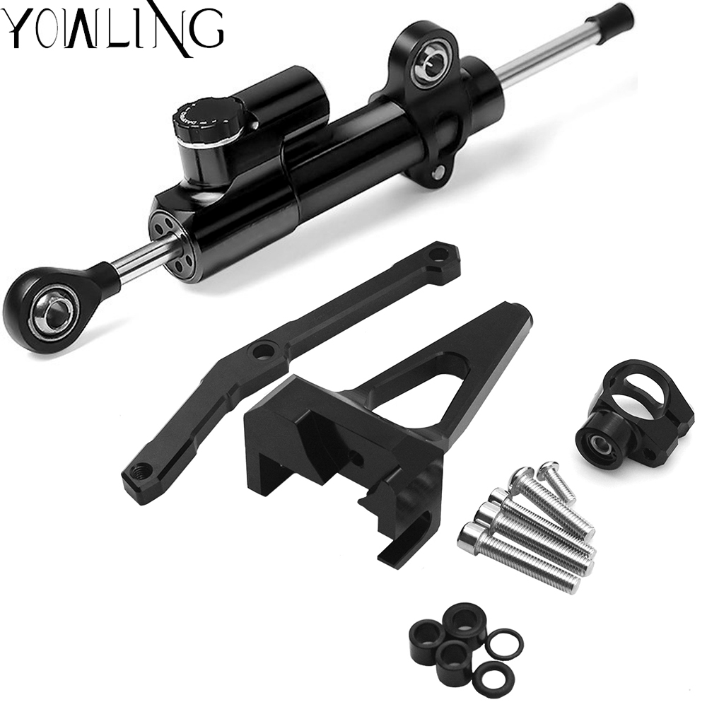 For Yamaha MT 09 MT 09 FZ 09 2013 2017 Not Tracer Motorcycles Adjustable Steering Stabilize