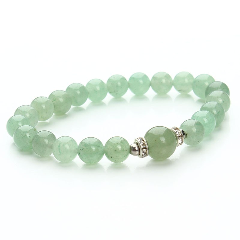 17 New Fashion Blue White Green Blue Stretch Energy Yoga Natural Stone Bracelet for Women & Men Gift Jewelry Pluseras F2853 10