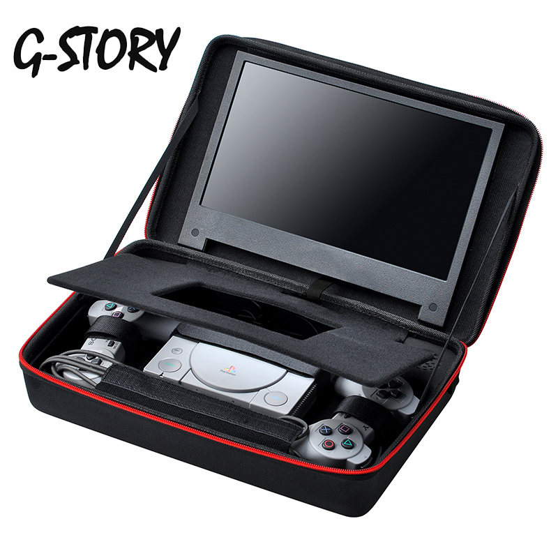 G-STORY 11.6 Inch FHD 1080P Display Gaming Monitor For PlayStation Classic With Carrying Case Ips Panel Black Gaming Display