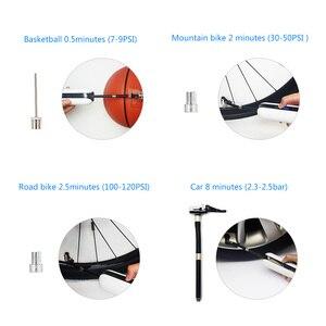 Image 3 - Inflador eléctrico para bicicleta de 150PSI, bomba de presión de aire para bicicleta, Inflador de neumáticos inalámbrico recargable para bicicleta de montaña o carretera