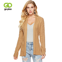 GOPLUS 2019 Spring Winter Knitted Cardigans Women Long Sleeve Sashes Sweater Ladies Casual Streetwear Pull Befree Shawl Female