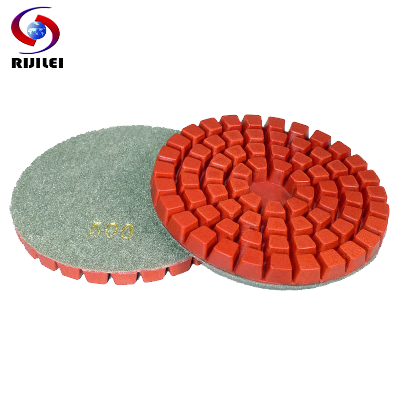 4ds7 10 Pieces Lot 4inch 100mm Concrete Floor Polishing