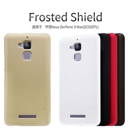 For Asus Zenfone 3 Max ZC520TL Case NILLKIN Super Frosted Shield Hard Back Cover case For Asus Zenfone 3 Max + Screen Protector