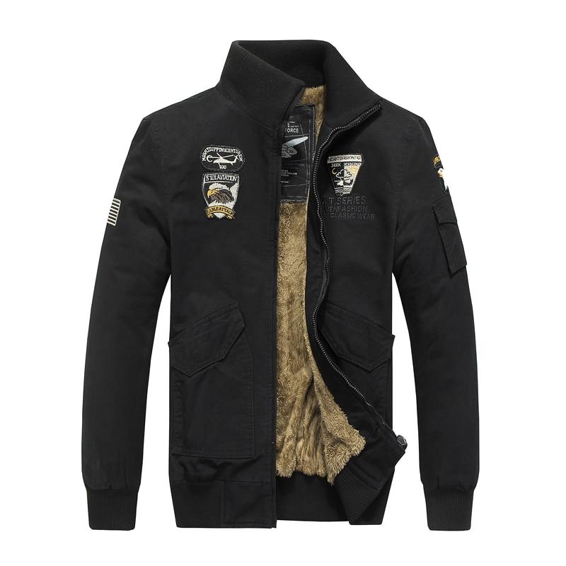 7e854e84c1d5cf Winter Tactical Jacket Men Army Coat Militar Clothes Bomber Airborne Air  Force Pilot Mens Combat Jackets Chaqueta Militar Hombre