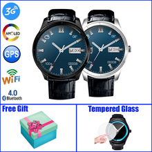 Finow Q3 Plus Android Smart Watch Phone Quad Core 1 39 AMOLED Display Heart Rate 3G