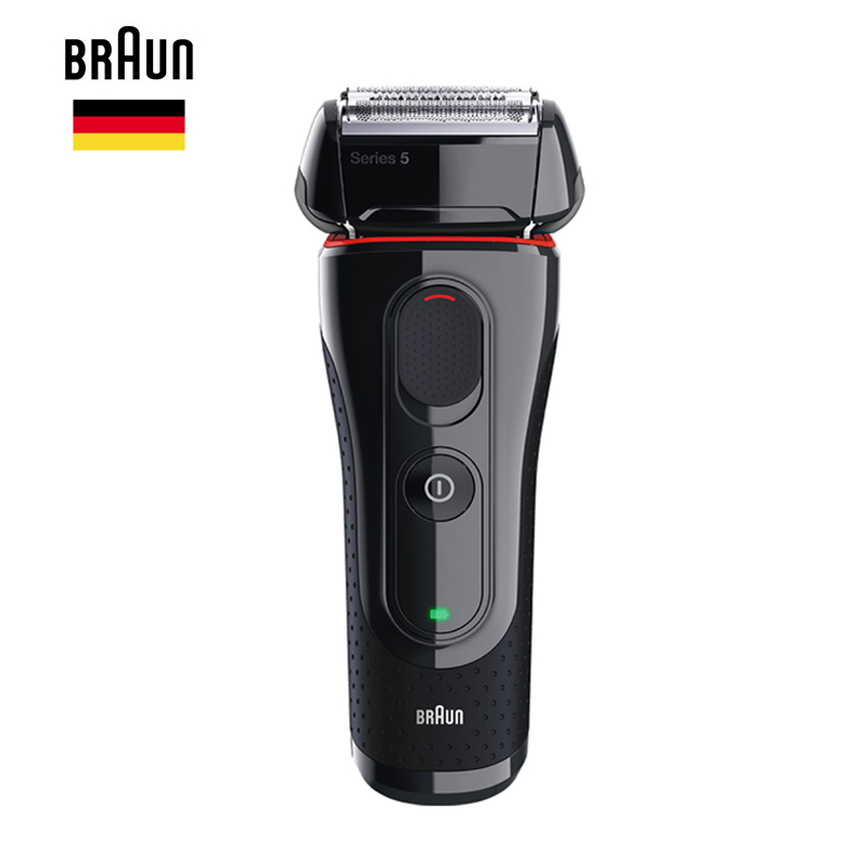 Braun Men'S Electric Foil Shaver Series 5 5030s Rechargeable Razor For Men Beard Shaving Machine Precision Trimmer 100-240v wet dry 5d electric shaver electric razor for men rechargeable men s beard shaving machine waterproof 2017 new