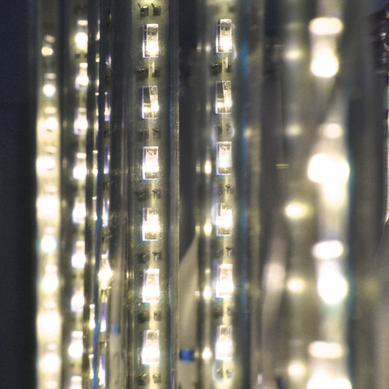 12 В led Метеоритный дождь лампы 30 см выдолбленные 30 см выдолбленные 8 костюмы