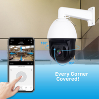 5MP IP Speed Dome Camera PTZ 30X Zoom Outdoor Onvif CCTV Security Mini Full HD 1080P P2P Camera Night Vision 150m