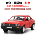 1:32 alloy Santana classic car model VW1201 acousto-optic Warrior kid toys Child toys gift