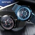 Мужские часы SANDA  армейские  аналоговые  кварцевые  спортивные  водонепроницаемые  2019