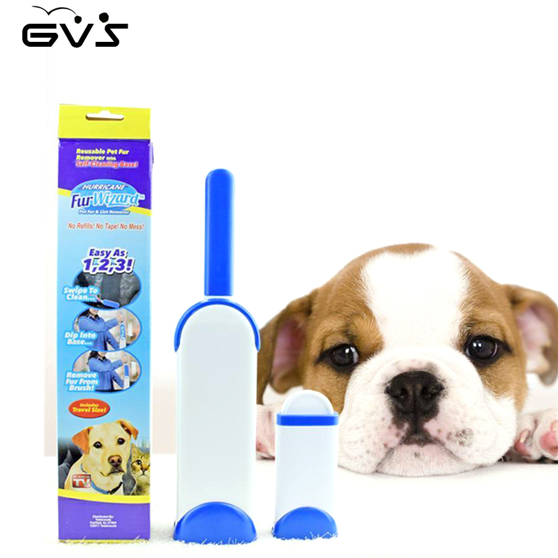 2 Pieces/set Pet Hair Removal Brush Pet Combs Originality Cat Dog Combs Sofa Bed Sheet Portable Travel Household Cleaning Brush