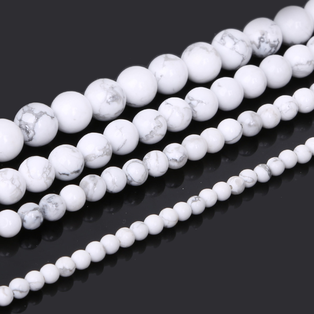Vintage Faux Pearl Round Beads Off White Jumbo Japan Necklace 22mm