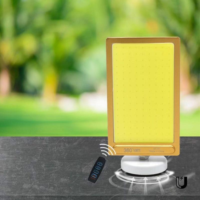 Işıklar ve Aydınlatma'ten Işıldaklar'de Taşınabilir 12V USB depolama pil şarj edilebilir LED projektör Işıldak Işık armatür manyetik taban COB acil durum lambası title=