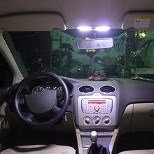 Супер яркий светодиодный внутренний купол и Карта, светильник для чтения, светильник для салона Ford Ecosport Focus 2 MK2 2007- Focus 1.8L Mondeo