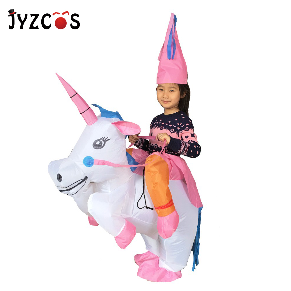 Jyzcos Inflatable Unicorn Costumes For Kids Women Adult -7553