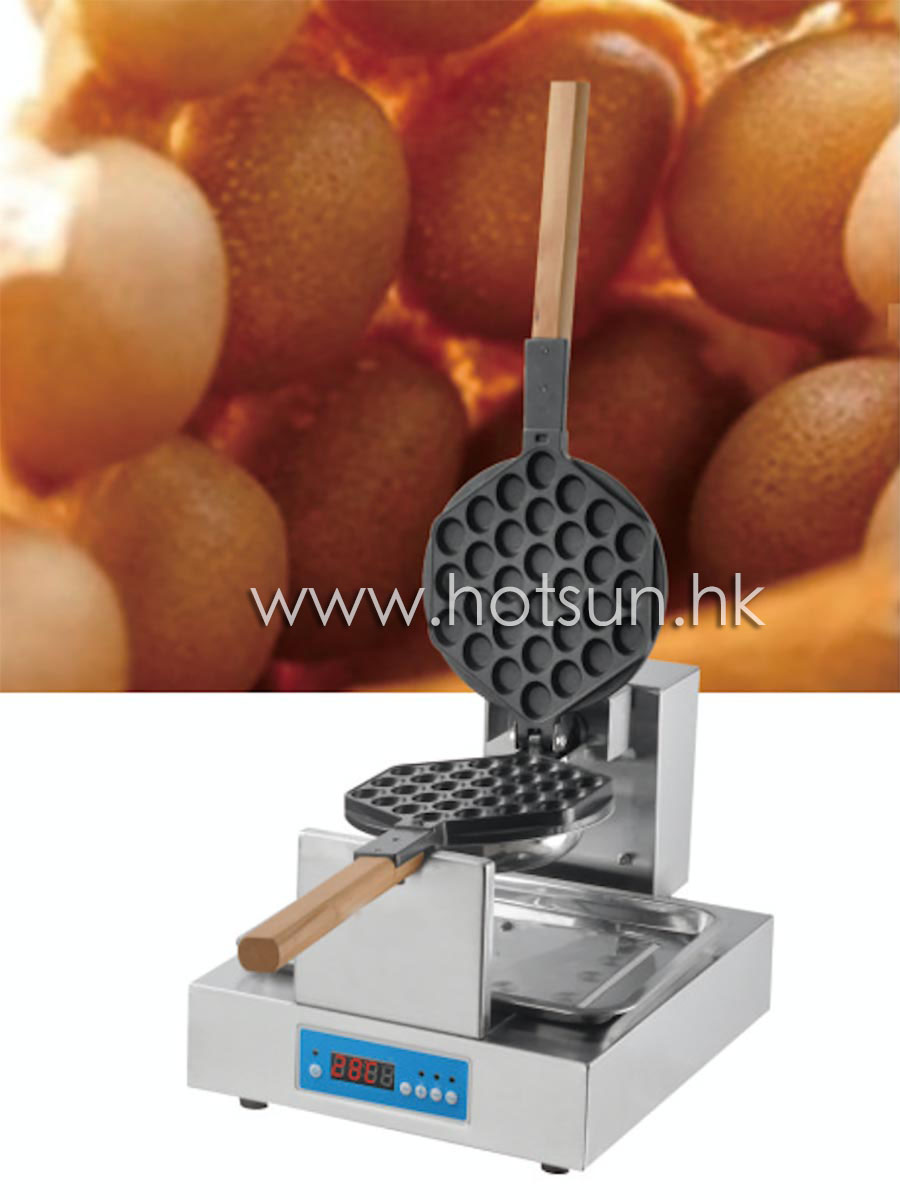 Free Shipping 220V Digital Thermostat Electric Eggettes Bubble Waffle Maker Iron Baker Machine