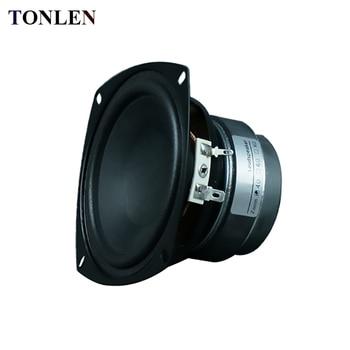 TONLEN 1PCS 4 inch Subwoofer Speaker 4 ohm 8 ohm 15 W HIFI Speakers Bluetooth Portable Horn Full Range Speakers Car Sub Woofer subwoofer