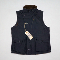 WW2 USN Mens US Navy AVIATOR Fleece Vest Replica Vintage Thick Winter Wool Waistcoat Woolen Sleeveless Military Jacket N1 Fabric