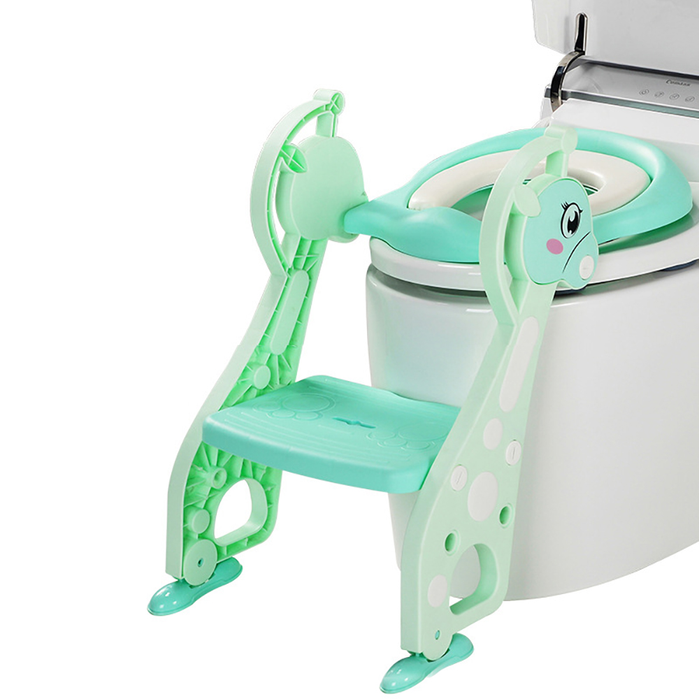 Folding Baby Kids Potty Training Toilet Chair Baby Potty Training Seat Children's Potty Baby Toilet Seat With Ladder potty power