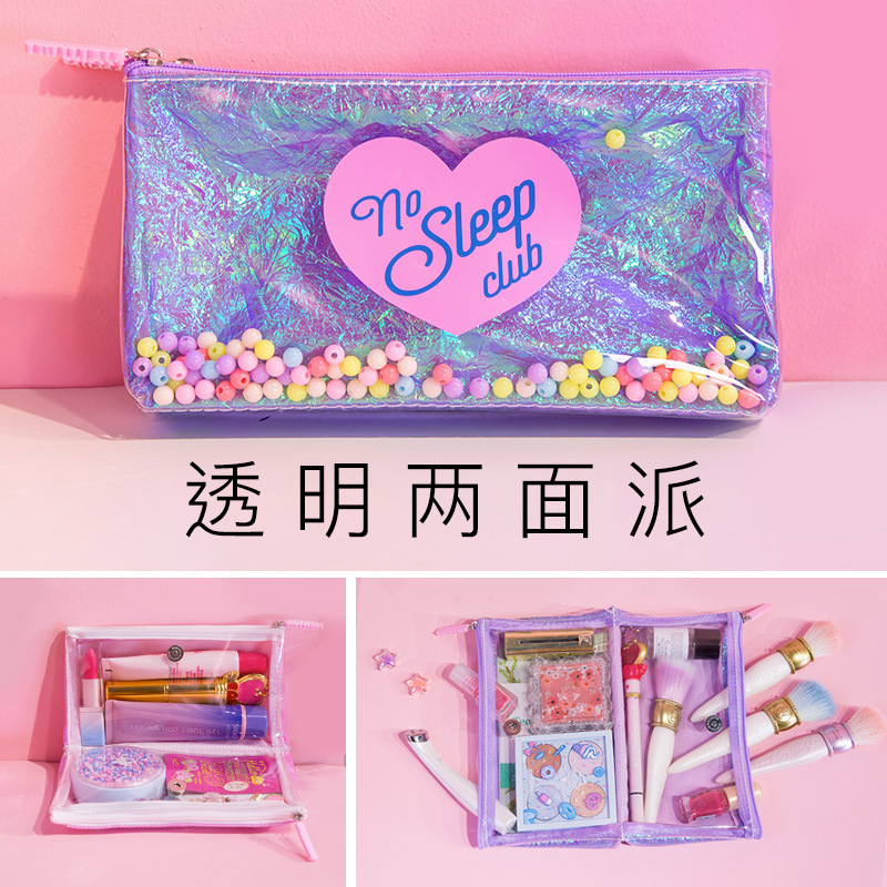 1Pcs Kawaii Pencil Case Transparent candy PU Gift Estuches School Pencil Box Pencilcase Pencil Bag School Supplies Stationery1Pcs Kawaii Pencil Case Transparent candy PU Gift Estuches School Pencil Box Pencilcase Pencil Bag School Supplies Stationery