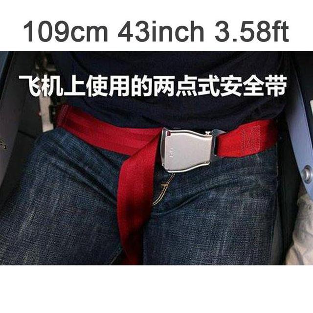 Más popular 109 cm 43 inch 3.58ft Ajustable cinturón de seguridad del Avión extendida red