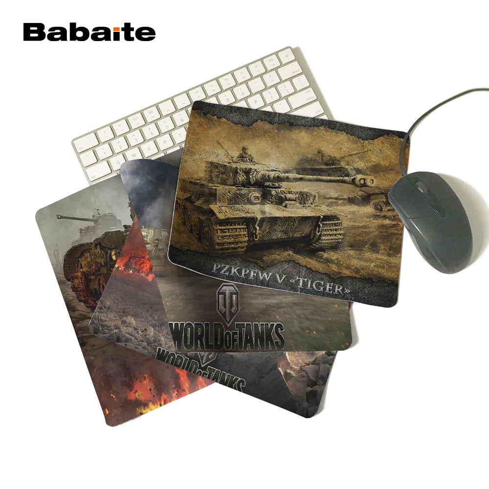 Babaite Hot New World of Tanks professional mousepad cheapest gaming mouse pad gamer large notbook computer