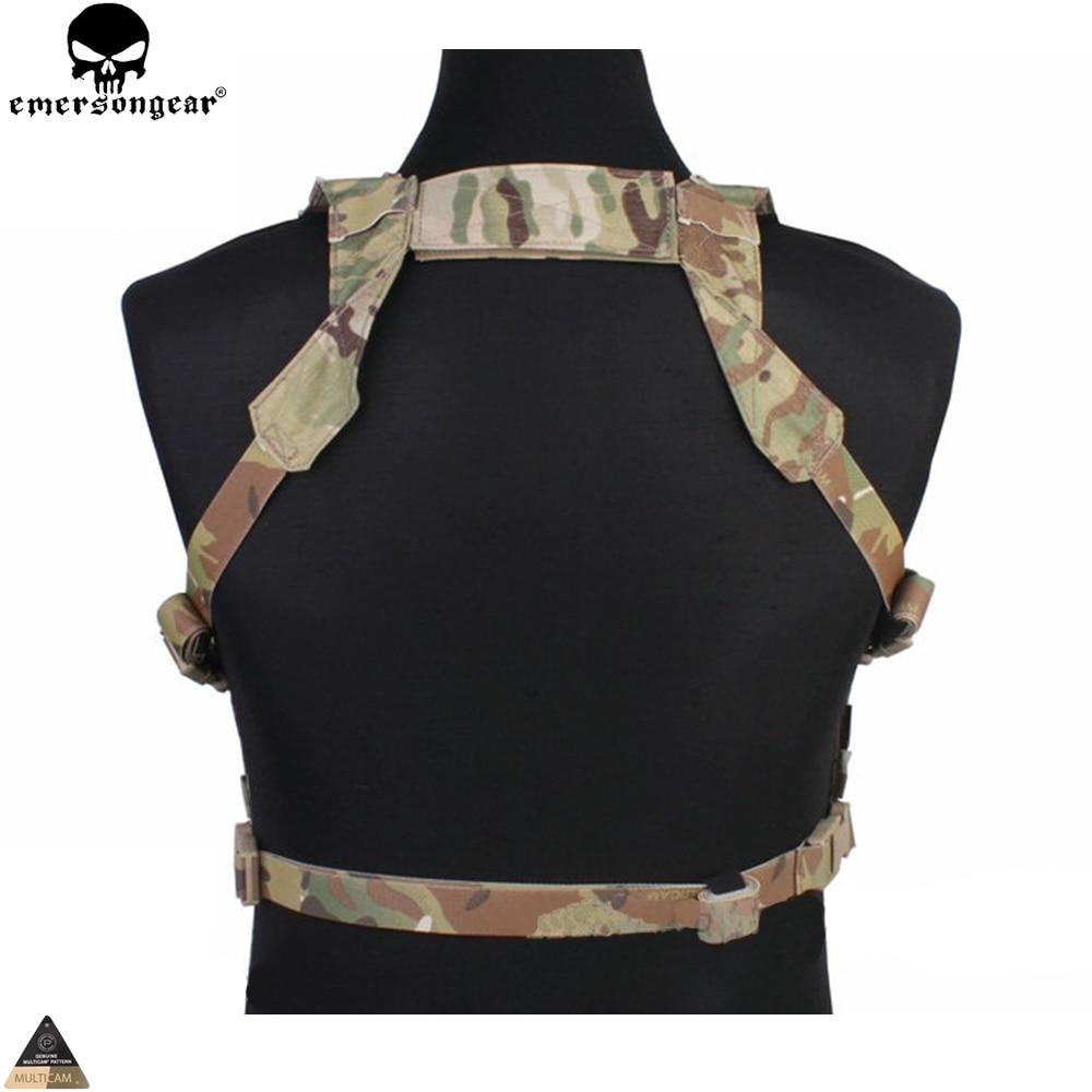 Jurnalı çantası olan Airsoft Hunting Paintball Vest Multicam - İdman geyimləri və aksesuarları - Fotoqrafiya 5