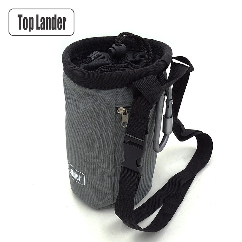 Magnesia Sack Rock Climbing Chalk Bag Waterproof Pocket for Weight Lifting Outdoor Bouldering Magnesia Pouch Climbing Equipment