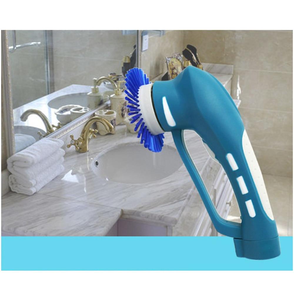 Electric Scrubber Kitchen Handheld Washing Cleaner Machine Oil Stain ...