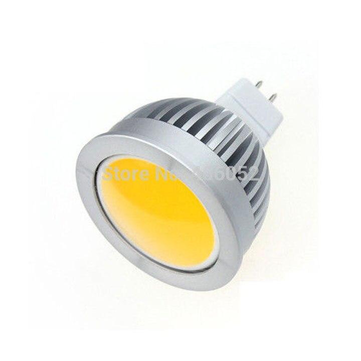 100pcs/lot wholesale AC/DC12V 24v 5W MR16 COB LED bulb Spot Light Spotlight Bulb Lamp High power lamp