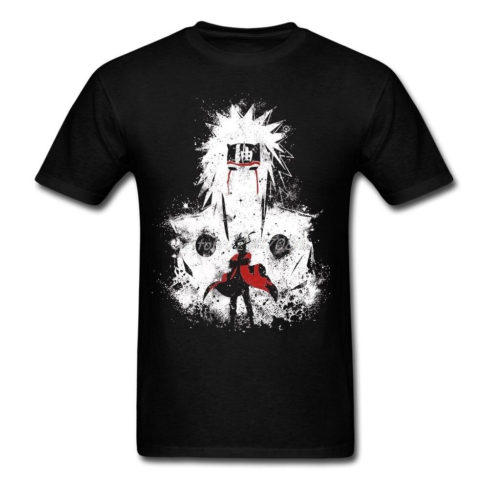 Camiseta de Sennin Modo NARUTO XXXL de manga corta para hombre, ropa de Pp para coches, camisetas divertidas de algodón con cuello redondo