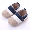New Striped Baby Shoes Hemp Infant Newborn First Walkers Toddler Sneakers Soft Sole Non-Slip Crib Baby Boy Girl Shoes 0-18M