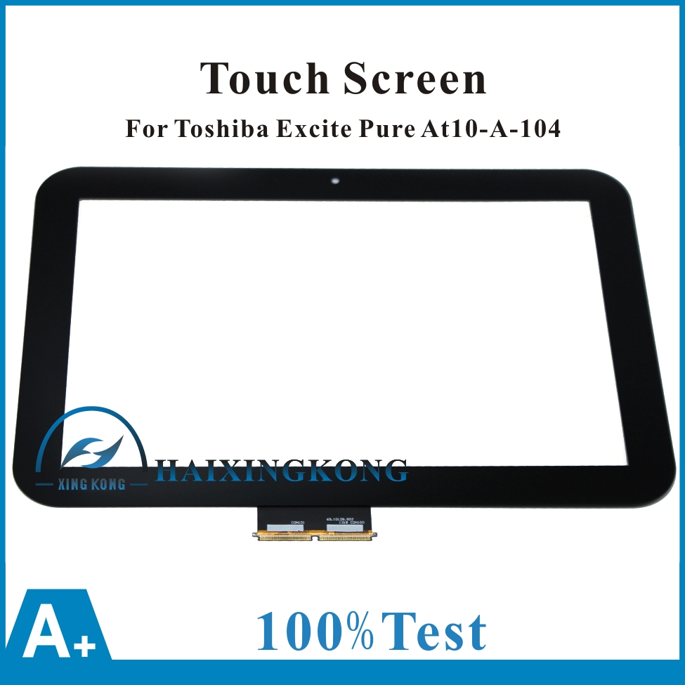 New For Toshiba Excite Pad AT10 AT10-A-104 AT10LE-A-108 AT10LE-A-107 69.10128.G02 Touch Panel Screen Digitizer Glass Replacement стенка для гостиной гранд кволити стенка горка джордан 6 559