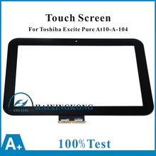 New For Toshiba Excite Pad AT10 AT10-A-104 AT10LE-A-108 AT10LE-A-107 69.10128.G02 Touch Panel Screen Digitizer Glass Replacement