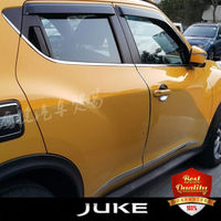Stainless Steel window frme trims for NISSAN JUKE Auto window decoration cover