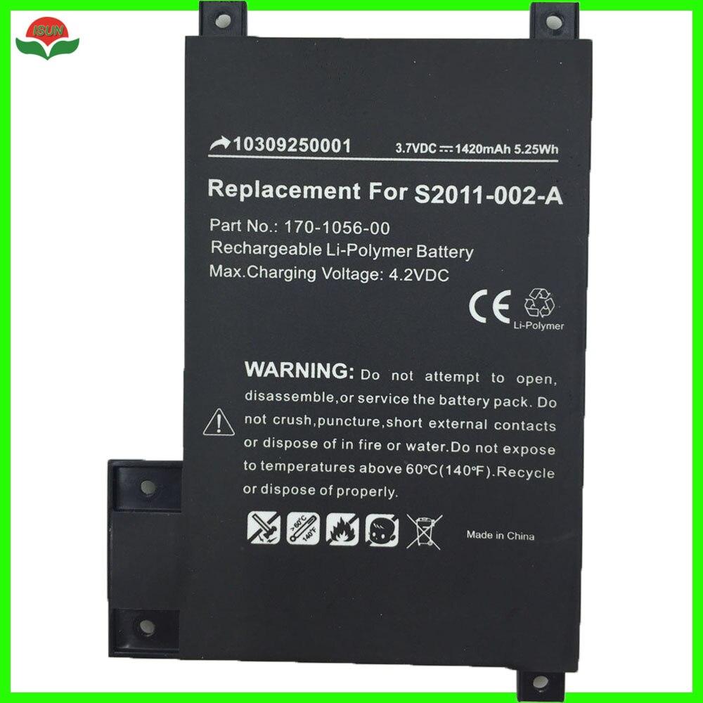 ISUN polymer lithium battery 1420mah for amazon kindle
