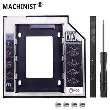 Универсальный SATA 3,0 2nd HDD твердотельный диск caddy 9,5 мм для 2,5 «2 ТБ SSD корпус жесткого диска ноутбук DVD-ROM Оптический отсек Optometrist