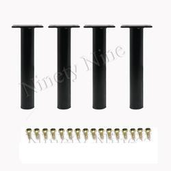 4 шт Металл с регулируемой окружностью шкаф диван кровать мебель ножки шкафа опора для ног с винтами 130 мм или 150 мм