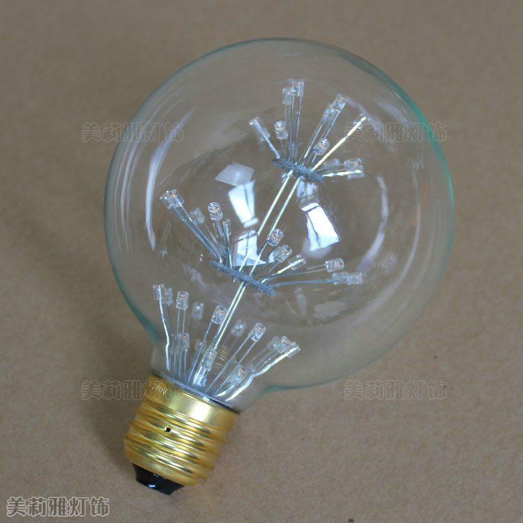 G80 G95 G125 2w Led Bombilla Edison Lamp E27 Vintage Bulb Light Lampada Edison Bulb Retro Lamp Ampoules Decoratives Incandescent Bulbs Light Bulbs