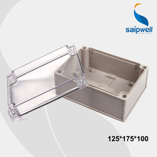 125*175*100 mm Size Clear Cover IP66 Plastic Waterproof Switch Box /Waterproof Enclosures With CE Approval (DS-AT-1217-1)