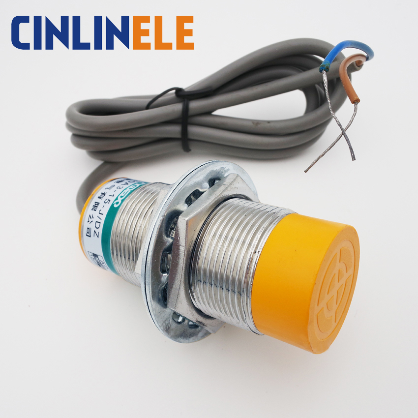 M24 LJ24A3-10-J/EDZ 10mm sensing AC 3 wire NO+NC prism shape inductive Screen shield type proximity switch proximity sensor