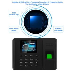 Image 4 - Eseye Attendance System Fingerprint TCPIP USB Password Office Time Clock Employee Recorder Device Biometric Time Attendance